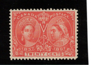 Canada #59 XF/NH Gem **With Certificate**