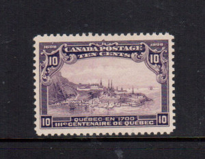 Canada #101 XF/NH Gem **With Certificate**