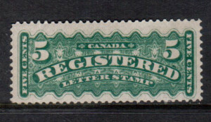 Canada #F2 XF/NH **With Certificate**