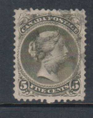 Canada #26iv XF Used **With Certificate**