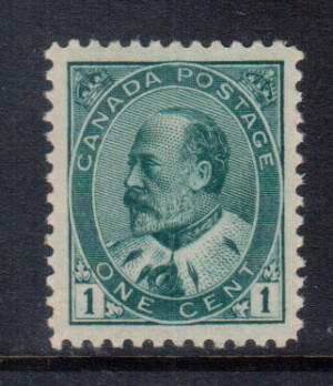 Canada #89iii XF/NH Gem **With Certificate**