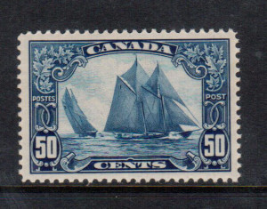 Canada #158 XF/NH **With Certificate**
