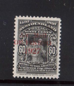 Newfoundland #C4 XF Mint DE Pinedo World Rarity **With Certificate**
