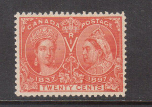 Canada #59 XF/NH **With Certificate**