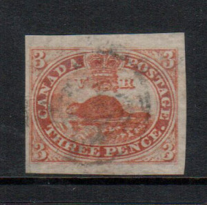 Canada #4d XF Used Gem With Huge Margins **With Certificate**