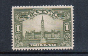 Canada #159iii XF/NH **With Certificate**