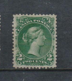 Canada #24b XF Mint Unused (No Gum) Gem **With Certificate**