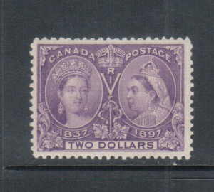 Canada #62 VF/NH **With Certificate**