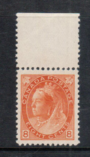 Canada #82 XF/NH Gem **With Certificate**