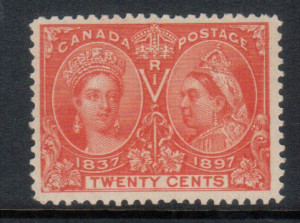 Canada #59ii VF/NH **With Certificate**