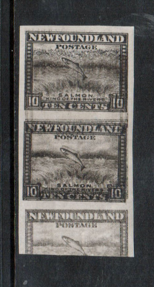 Newfoundland #193iii XF Mint Imperf Pair **With Certificate**