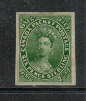 Canada #9 XF Mint Gem **With Certificate**