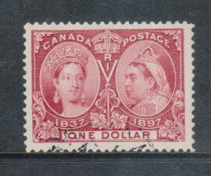 Canada #61 XF Used Gem **With Certificate**