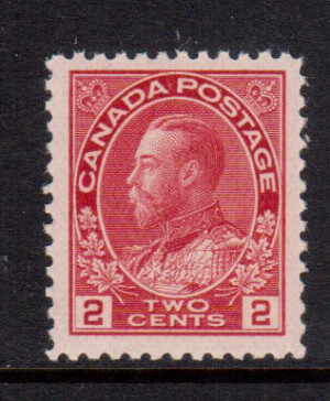 Canada #106b XF/NH **With Certificate**