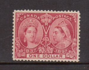 Canada #61 XF/NH **With Certificate**