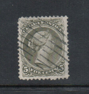 Canada #26iv XF Used Gem **With Certificate**