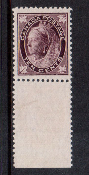 Canada #73 XF/NH **With Certificate**