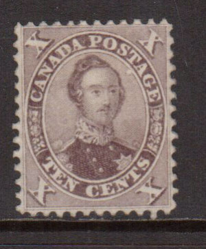 Canada #17 XF Mint Unused (No Gum) **With Certificate**