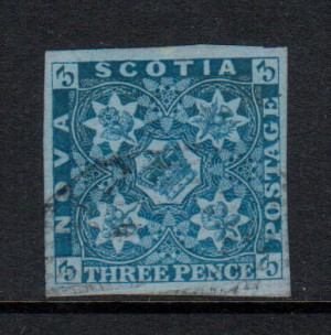 Nova Scotia #2i XF Used Gem **With Certificate**