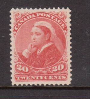 Canada #46 XF/NH Gem **With Certificate**