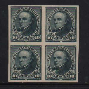 USA #226Pa XF/NH Imperf Block
