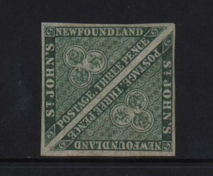 Newfoundland #3 XF Mint Rare Pair **With Certificate**