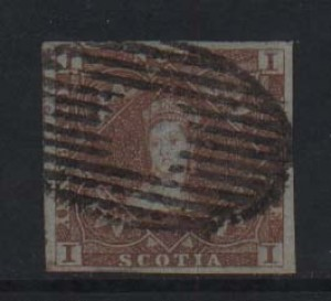 Nova Scotia #1 Used Superb With Huge Margins  **With Certificate**
