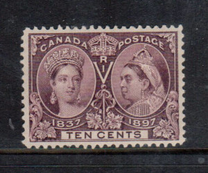 Canada #57 XF/NH **With Certificate**