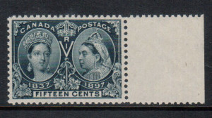 Canada #58 XF/NH Gem **With Certificate**