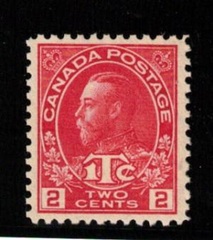 Canada #MR3a XF/NH Gem **With Certificate**