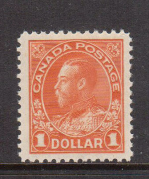 Canada #122 XF/NH Gem **With Certificate**