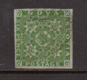 Nova Scotia #4 VF+ Used **With Certificate**