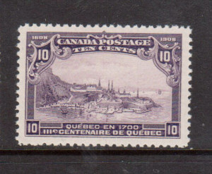 Canada #101 NH Mint Gem **With Certificate**