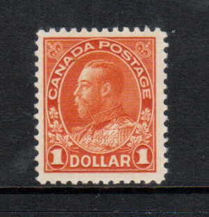 Canada #122b VF/NH **With Certificate**
