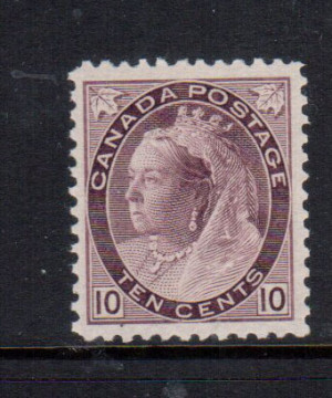 Canada #83 XF/NH **With Certificate**