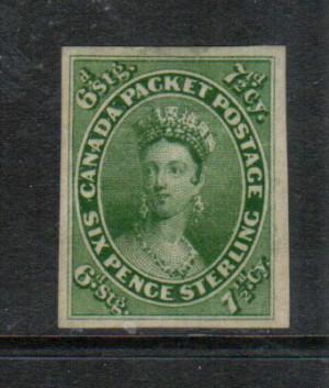 Canada #9 XF Mint Gem **With Certificate**