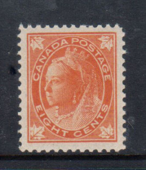 Canada #72 XF/NH Gem **With Certificate**