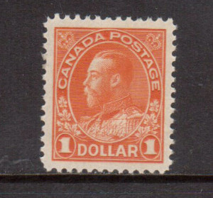 Canada #122 XF/NH **With Certificate**