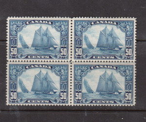 Canada #158iii VF Mint Man On The Mast Variety **With Certificate**
