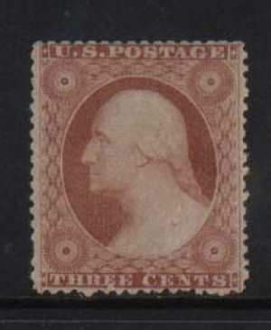 USA #26 XF/NH  **With Certificate**
