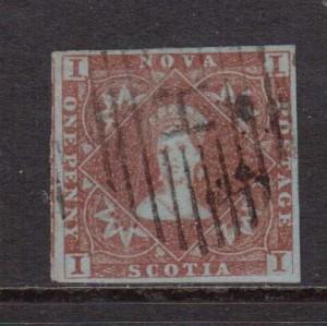 Nova Scotia #1 XF Used  **With Certificate**