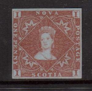 Nova Scotia #1 VF+ Mint  **With Certificate**