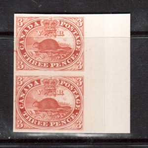 Canada #1P XF Proof Pair India On Card
