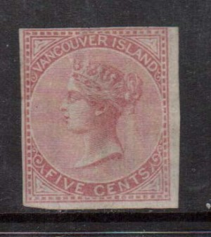 British Columbia #3 Used But Appears Mint **With Certificate**