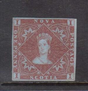 Nova Scotia #1 VF Mint **With Certificate**