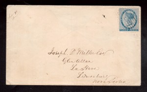 Prince Edward Island #2 VF Used On Choice Cover **With Cert.**
