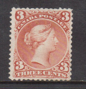 Canada #25iii Very Fine Mint **With Certificate**