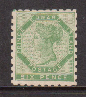 Prince Edward Island #3 VF Mint **With Certificate**