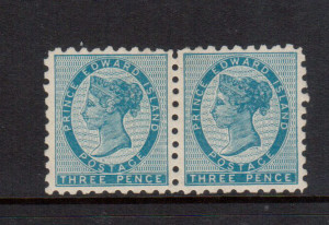 Prince Edward Island #2 VF Mint Pair **With Certificate**
