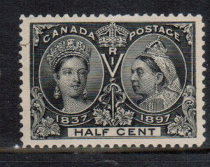 Canada #50 XF/NH Gem **With Certificate**